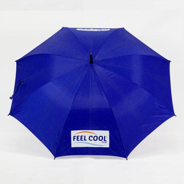 ร่มขนาดกลาง24นิ้ว สีน้ำเงิน งานFEELCOOL