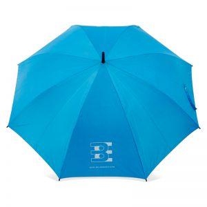 ร่มขนาดกลาง 28นิ้ว สีฟ้า งานBE
