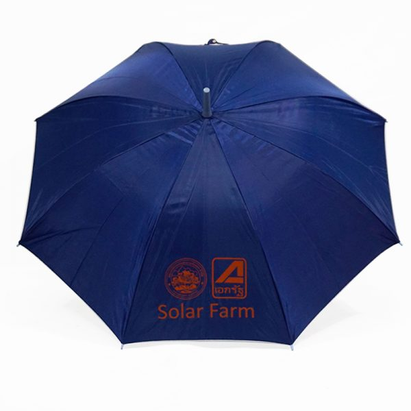 ร่มขนาดเล็ก 22นิ้ว สีน้ำเงิน งาน Solar Farm