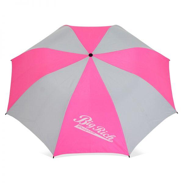 รับทำร่มพับ2ตอน โลโก้BigRich