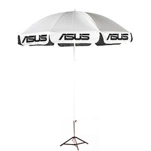 ร่มสกรีนร่มสนาม สีขาว ASUS