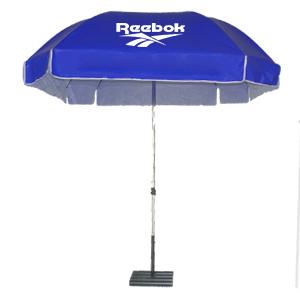 ร่มสกรีนร่มสนาม สีน้ำเงิน reebok