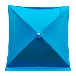 ร่มสนาม ร่มแม่ค้า ขายส่ง สีฟ้า