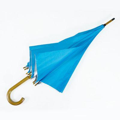 ร่มขายส่งโครงไม้24นิ้ว-สีฟ้า-03