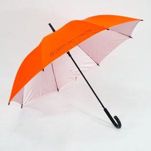 ร่มขนาดกลาง24นิ้ว สีส้มสะท้อนแสง SUCHADA