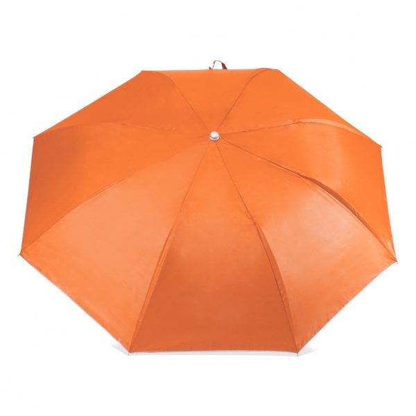 ร่มพับขายส่ง ร่มสีส้ม