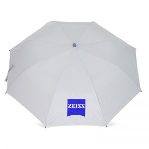 รับทำร่มพับ2ตอน โลโก้ZEISS