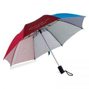 ร่มพับ2ตอน สกรีนร่ม