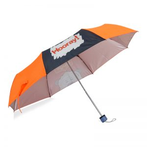 ทำร่มพับ สกรีนร่ม Hooray