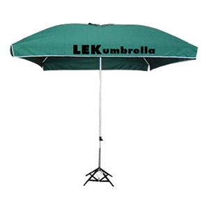 ร่มสกรีนร่มสนาม สีเขียว LEK