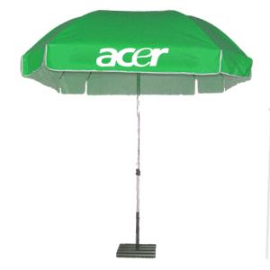 ร่มสกรีนร่มสนาม สีเขียว acer