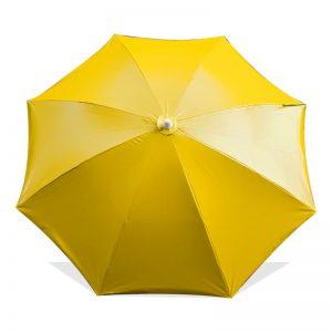 ร่มสนาม ร่มแม่ค้า ขายส่ง สีเหลือง