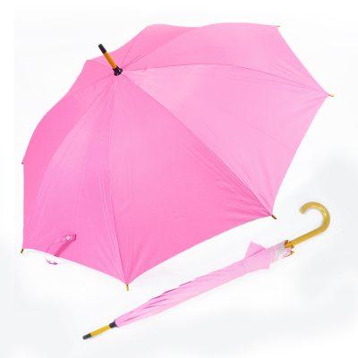 ร่มขายส่งโครงไม้24นิ้ว-สีชมพู-01