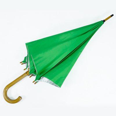 ร่มขายส่งโครงไม้24นิ้ว-สีเขียว-03