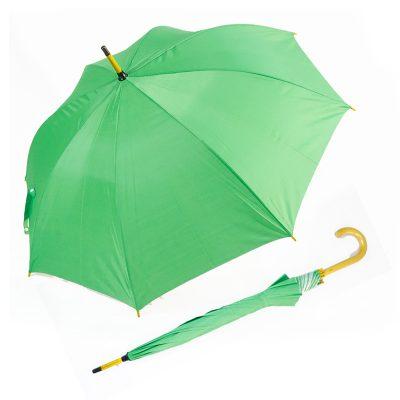 ร่มขายส่งโครงไม้24นิ้ว-สีเขียว-01