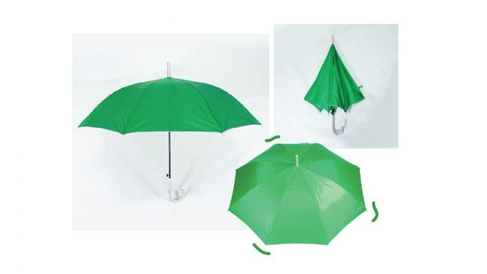 ร่มสีเขียว