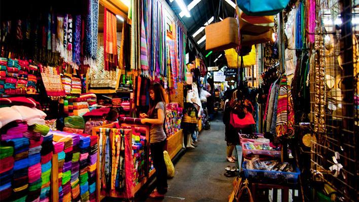 ร้านขายร่ม ย่าน พาหุรัด