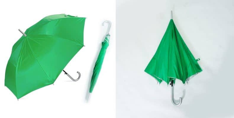 ร่มตอนเดียว22นิ้ว-สีเขียว